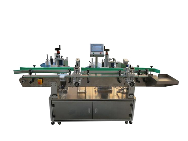 Automatic labeling machine structure