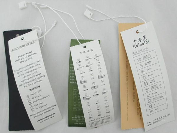 A successful labeling scheme for the garment industry