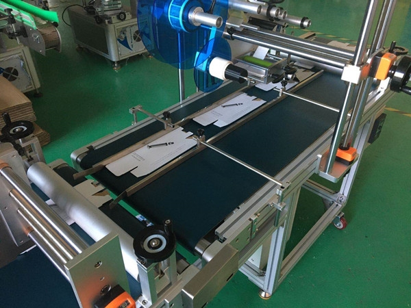 Flat labeling machine has stable performance and higher safety