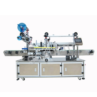 High speed double side labeling machine
