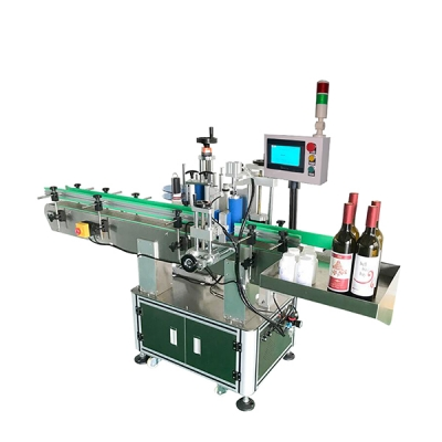 BG612 Automatic Vertical Red Wine Bottle Labeling Machine