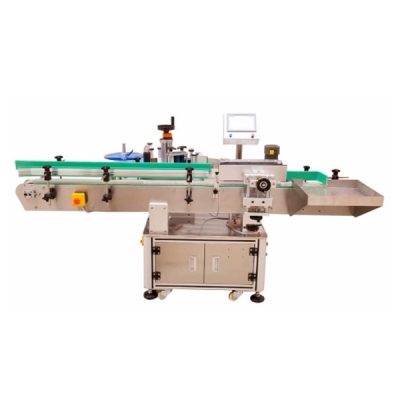 BG612- full automatic round bottle labeling machine + roll type