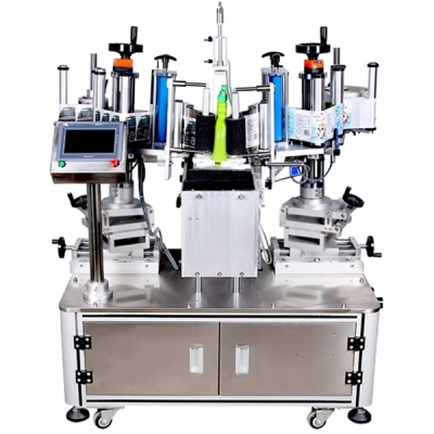 BG226- semi-automatic double side labeling machine